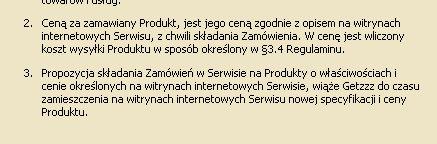 Warunki dostawy w serwisie www.getzzz.pl