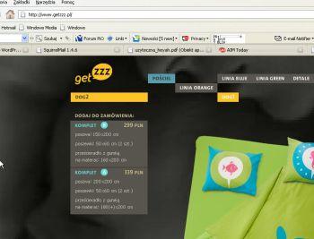Nie można linkować bezpośrednio produktów w www.getzzz.pl