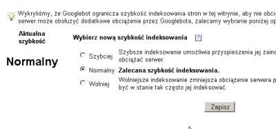Google i indeksowanie w Sitemaps
