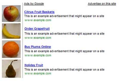 Przykład reklamy, która nie jest akceptowana przez Google