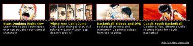 Przykład reklamy AdSense - Reklama umieszczona pod obrazkami