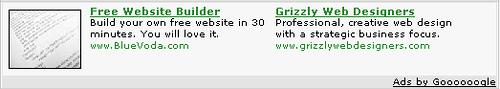 Testy Google z obrazkami przy reklamach
