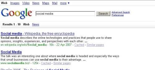 social media Nowy interfejs Google   przetestuj sam