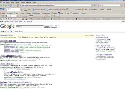 testy google 2 Nowy interfejs Google   przetestuj sam