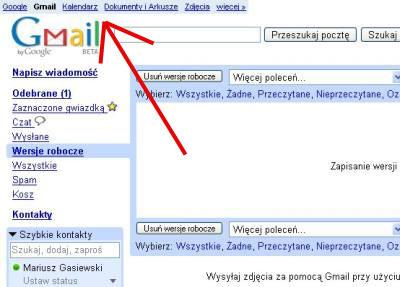 Testy nowego interfejsu Google
