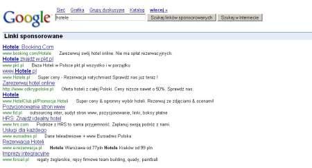 Wyszukiwarka AdWords