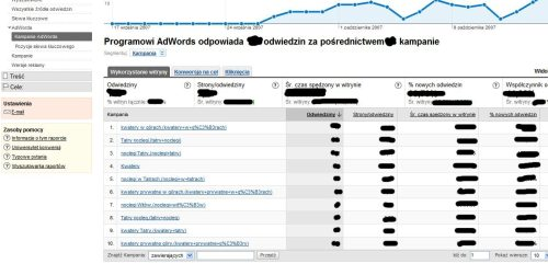 filtr google male 10 minut pracy z Google Analytics sposobem na optymalizację kampanii