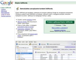 adwords edytor 2 Edytor Google AdWords 5.0