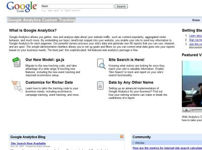 analytics custom tracking Nowy kod Google Analytics