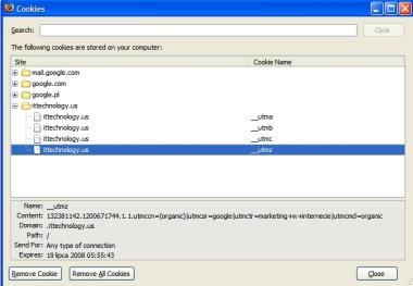 analytics sledzenie utmz 2 Śledzenie konwersji AdWords czy śledzenie Google Analytics?