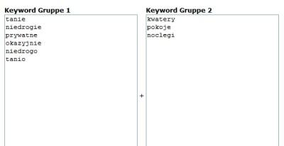 Tworzenie słów kluczowych w AdWords