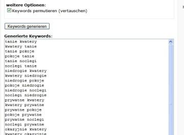 Tworzenie słów kluczowych na potrzeby AdWords