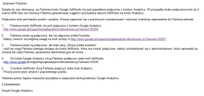 google analytics adwords 2 Połącz konto AdWords z kontem Google Analytics