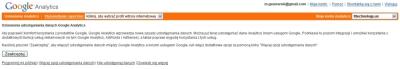 Włączenie nowej funkcjonalności w Google Analytics
