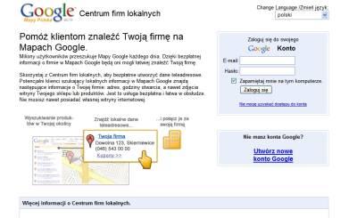 google centrum lokalne 2 Jak dodać za darmo firmę do polskiego Google Maps