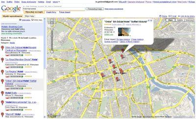 Polska wersja Google Maps
