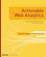 Actionable web analytics