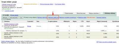 Reklama graficzna Google - dodawanie reklamy