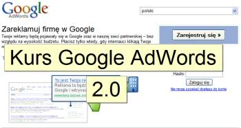 kurs google adwords Kurs Google AdWords 2.0