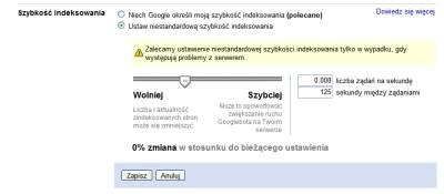 google predkosc indeksowania 2 Narzędzia dla Webmasterów   12 powodów, dla których warto je mieć
