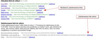 linki witryn blokowanie 2 Narzędzia dla Webmasterów   12 powodów, dla których warto je mieć