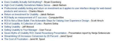 baza wiedzy usability Kolejna porcja wiedzy o marketingu internetowym