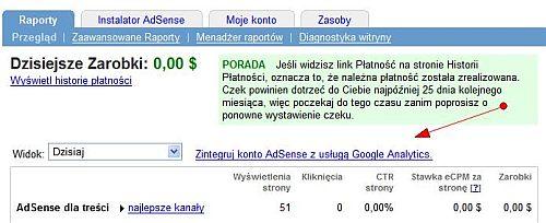 google adsense analytics Uzyskuj wyższe przychody z AdSense za pomocą Google Analytics
