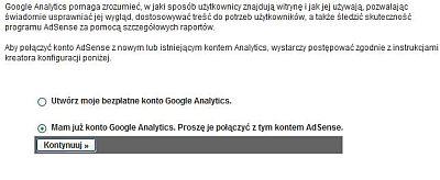 polacz konto analytics Uzyskuj wyższe przychody z AdSense za pomocą Google Analytics