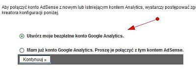 utworz konto Uzyskuj wyższe przychody z AdSense za pomocą Google Analytics