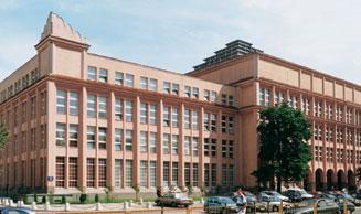 Budynek główny Szkoły Głównej Handlowej