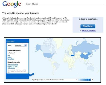 Google Export Advisor