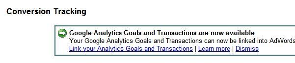 Konwersje z Google Analytics w Google AdWords