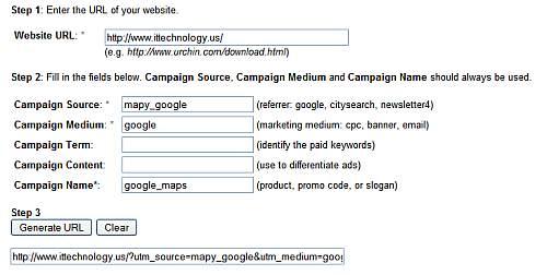 Śledzenie efektywności Google Analytics i mapy google