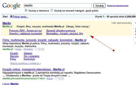adwords linki Niestandardowe formy optymalizacji widoczności w Google AdWords