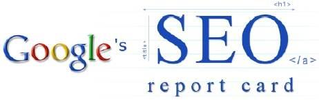 Raport SEO i pozycjonowania od Google