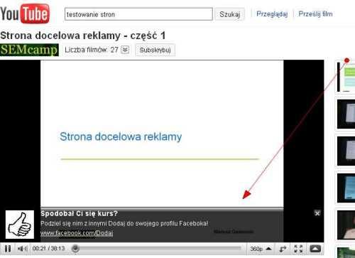 dodaj do facebook 2 Jak linkować z Youtube?