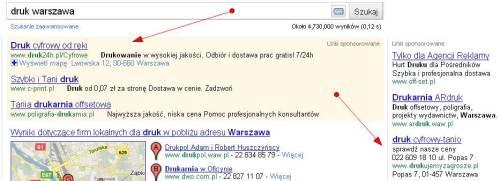Rozszerzenia lokalizacji w obrębie kampanii Google AdWords