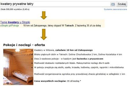 tekst reklamowy 2 Jak uzyskać wysoki Wynik Jakości w reklamach Google?