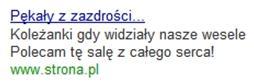 Tekst reklamowy w Google AdWords