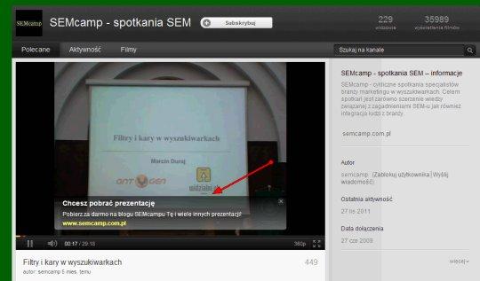 trueview nakladka Reklamy Trueview w wynikach wyszukiwania Youtube – praktyczny przewodnik