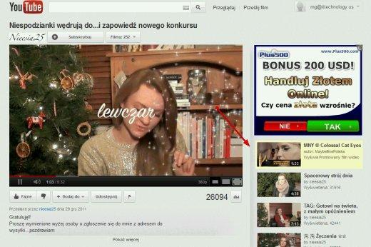 Format Trueview - Trueview przy podobnych filmach wideo na Youtube