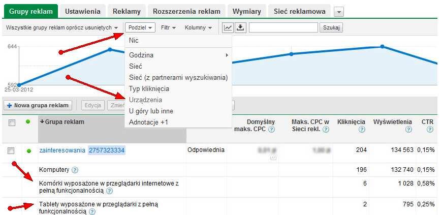 mobilna podziel Jak tworzyć kampanie reklamowe w mobilnej Sieci reklamowej Google (tzw. mGDN)?