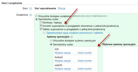 Tworzenie kampanii Google AdWords