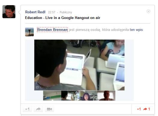 hangouts on air Livestreaming za darmo, czyli Google udostępnia Hangouts on Air w Polsce. Jak to wykorzystać do promocji marki?
