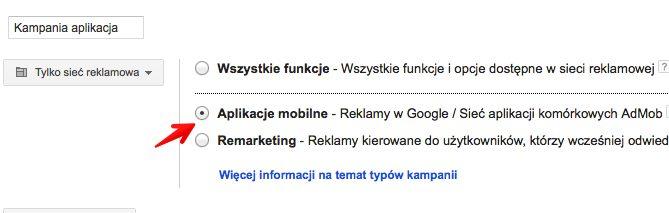 zakladanie kampanii aplikacje Wszystko o formatach mobilnych w Sieci reklamowej Google