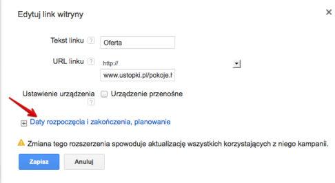 linki witryny rozpoczecie Rozszerzone kampanie w wyszukiwarce Google   o co w tym chodzi?