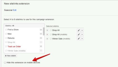 linki witryny ukrywanie Rozszerzone kampanie w wyszukiwarce Google   o co w tym chodzi?