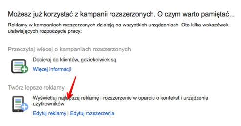 migracja kampanii krok 4 Rozszerzone kampanie w wyszukiwarce Google   o co w tym chodzi?