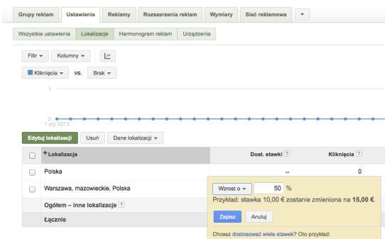 modyfikatory lokalizacji Rozszerzone kampanie w wyszukiwarce Google   o co w tym chodzi?
