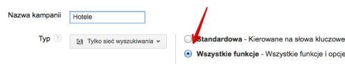 tworzenie kampanii krok 2 Rozszerzone kampanie w wyszukiwarce Google   o co w tym chodzi?
